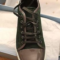 Brand New Lanvin Men's Cap Toe Low Top Sneakers Photo