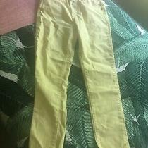 Brand New Levis Yellow 721 High Rise Ankle Skinny Jeans Sz 8/29w Photo