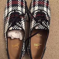 Brand New Louboutin Woven Dress Shoes Photo
