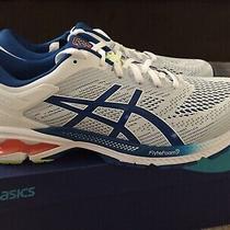 Brand New Men Asics Gel Kayano 26 White/lake Drive Blue Running Shoes Sz Us12 Photo