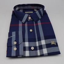 Brand New Mens Burberry Brit Long Sleeve Shirt Size Xl / X-Large a-32 Photo