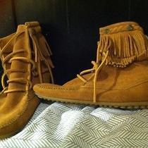 Brand New Minnetonka Moccasin Boots Photo