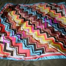 Brand New Missoni for Target Colore Chevron Zigzag Silk Scarf 28