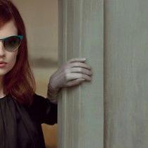 Brand New Miu Miu Cat Eye Sunglasses Teal Green Blue Frame Smu 50o 54 18 Photo