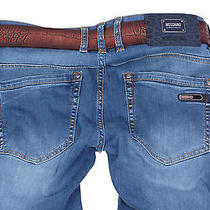 Brand New Moschino 3099 Men's Jeansgift Belt Size 31 Photo