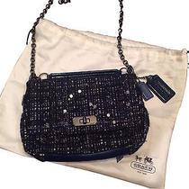 Brand New - Navy Coach Handbag Photo
