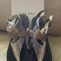Brand New Nine West Thong Sandal Size 8.5 Photo