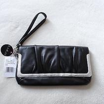 Brand New Nordstrom Lulu Wristlet Wallet Black  Nwt Photo