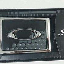 Brand New Oakley Black/chrome Ellipse Belt Buckle 2.0 Photo