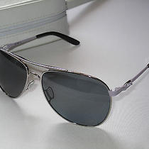Brand New Oakley Daisy Chain Polished Chrome Grey Polarized Sunglasses Oo4062-07 Photo