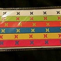 Brand New Pack of Six Hurley Headbands Bright Colors Photo