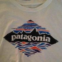 Brand New Patagonia Wood Stamped Logo Tee Photo