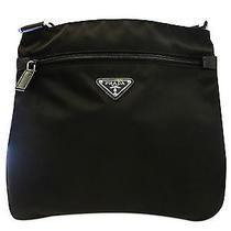 Brand New Prada Black Nylon Shw Top Zip Shoulder Bag Photo