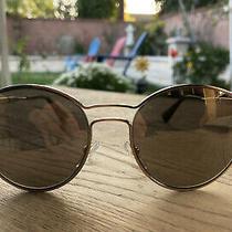 Brand New Prada Sunglasses 62ss Zvn 1c0 Gold/gold Mirror for Women Photo