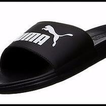Brand New Puma Cat Men's San Paulo Slide Sandal Men's 7 Black Last Pr. Free Ship Photo