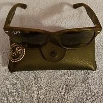 Brand New Ray-Ban New Wayfarer W/ Polarized Lenses Womens Sunglasses  Photo