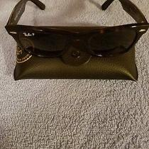 Brand New Ray-Ban Wayfarer W/ Polarized Lenses Womens Sunglasses Photo