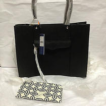 Brand New Rebecca Minkoff Medium Mab Tote - (Black) Photo