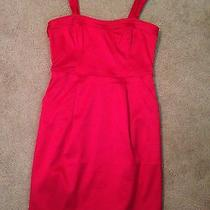 Brand New Red Express Dress Size 6 Photo