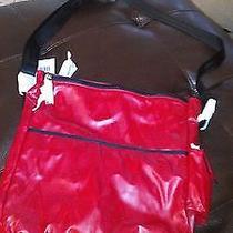 Brand New Red via Spiga Diaper Bag Photo