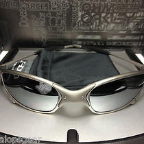 Brand New Restored by Xman Oakley X-Metal Juliet Ti-02 W/ Black Polarized Lenses Photo