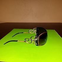Brand New Roberto Cavalli Admeta 303s Sunglasses Made in Italy Black and Brown  Photo