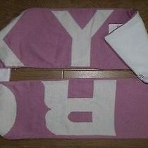 Brand New Roxy Women Fleece Lined Scarf - Baby Pink  Photo