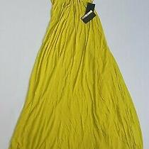 (Brand New - Rrp 1650.00) Womens Roberto Cavalli Bright Yellow Maxi-Dress Photo