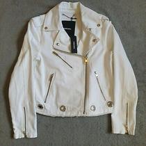 (Brand New - Rrp 250.00) Womens Diesel De-Hole Giacca Bright Denim Jacket  Photo