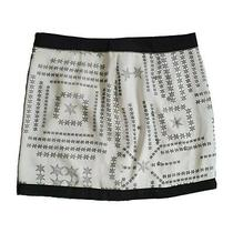 (Brand New - Rrp 65.00) Womens Star Guess Print Skirt - Size 8 Photo