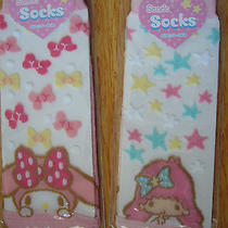 Brand New See Through Socks Free Size From Sanrio Photo
