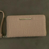 Brand New Steve Madden Blush Pink Wallet Wristlet Photo