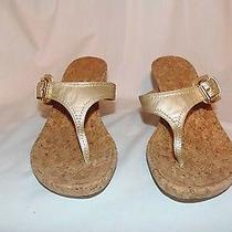Brand New Stuart Weitzman Nifty Gold Sandals Photo