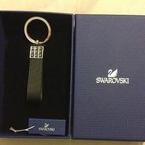 Brand New Swarovski Rapid Black Key Ring Retail 85 Photo