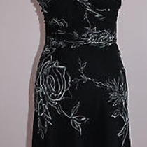 Brand New Theory Black Dress With Zipper Size Small Photo