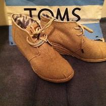 Brand New Toms Wedges Shoes Size 8 Photo
