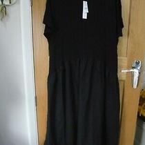 Brand New Topshop Black Dress Size Medium Photo