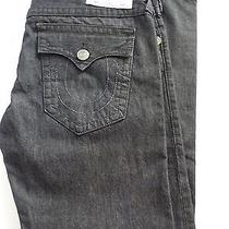 Brand New True Religion Men's Jeans Size 40 Section Straight Seat  Photo