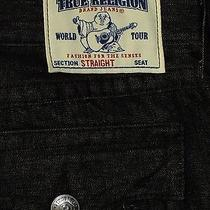 Brand New True Religion Men's Section Straight Seat  Jeans  Size 40  Photo