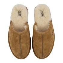 Brand Newugg Men's Scuff Suede Slipper Chestnut Size 11 Photo