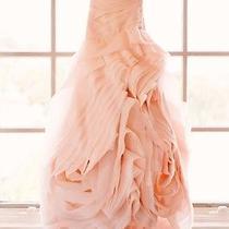 Brand New Vera Wang Wedding Dress Blush Pink Size 10 (1500.00 Value)  Photo