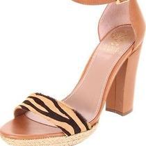 Brand New Vince Camuto Women's Venize Sandal Fudge Combo 9m Photo