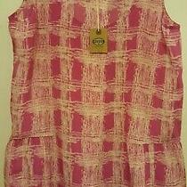 Brand New W Tag 100% High Quality Silk Pink Floral Top Sz Xs Must See Photo