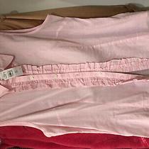 Brand New W Tag Ann Taylor Loft Pink Cotton Shirt Top Sz Small Photo