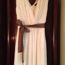 Brand New W/ Tags Gorgeous French Connection Wedding All Sequin Chiffon Dress  Photo