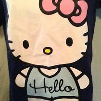 Brand New W/tags Hello Kitty Graphic T Shirt Size M Photo