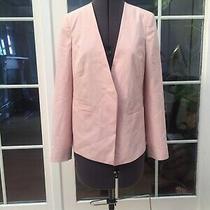Brand New Wallis Light Pink Collarless Blazer Suit Jacket Cover Up Uk 8-10 38 Photo