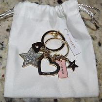 Brand New With Tag Coach Stars and Heart Key Ring Photo