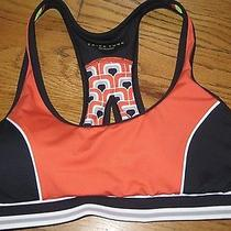 Brand New With Tag Msrp 56 Trina Turk Recreation Sports Bra Nice Colors-Small Photo