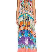 Brand New With Tags Camilla Frank's Casa Mila Drawstring Dress With Crystals Os Photo